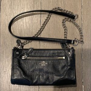 Almost New COACH Mickey Leather Crossbody, F52646